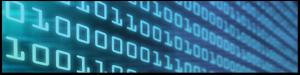 digital display with binary code